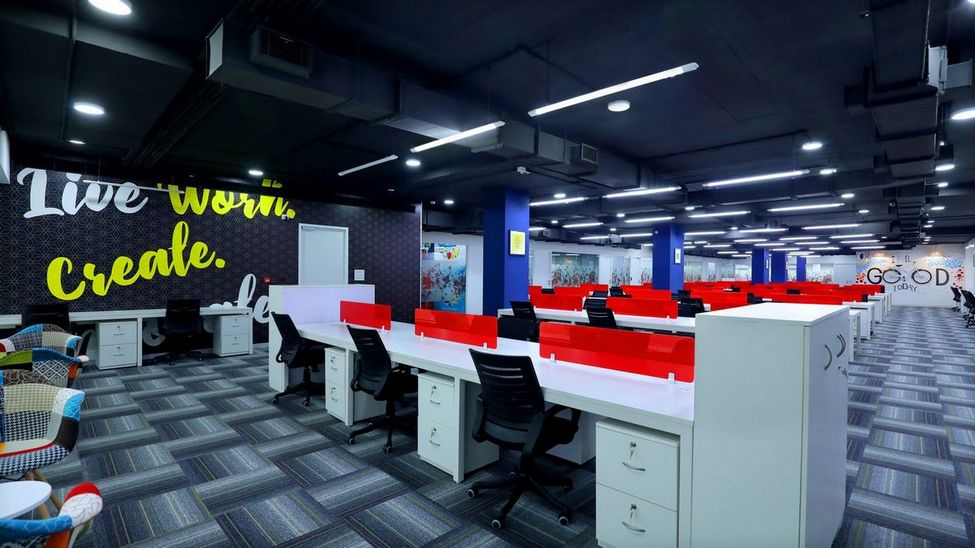 office interior contractors in Bangalore
