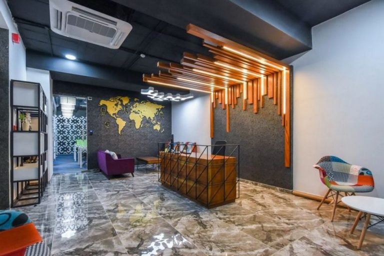 POPULAR AND SUITABLE COLOR SCHEMES FOR AN OFFICE SPACE